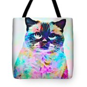 Cat Picture Tote Bag