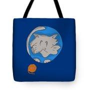 Cat Planet Tote Bag