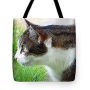 Cat Profile Tote Bag