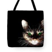 Cat Shadow Tote Bag