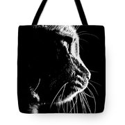 Cat Silhoette Tote Bag