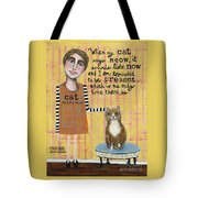 Cat Whisperer Tote Bag