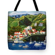 Catalina Island 2 Tote Bag by Milagros Palmieri