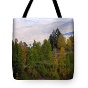 Catalina Mountains In The Fall Tote Bag