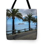 Catalina Palms Tote Bag
