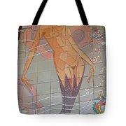 Catalina Tile Mermaid Tote Bag