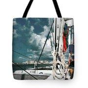 Catamaran Tote Bag