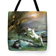 Catapult Of Love Tote Bag