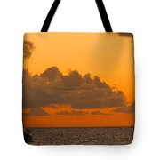 Catarman At Sunset Tote Bag