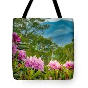 Catawba Rhododendron At The Craggy Tote Bag