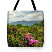 Catawba Rhododendrons Tote Bag