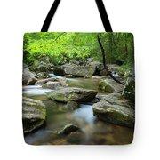 Catawba River In Summer Tote Bag