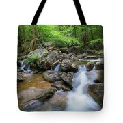 Catawba Stream In Pisgah National Forest Tote Bag
