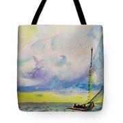 Catboat Tote Bag