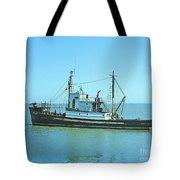 Catch Boat Allen Cody For Del Monte Fishing Co. Taken On July 5  Tote Bag