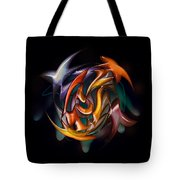 Catch Of The Day In Hand Tote Bag
