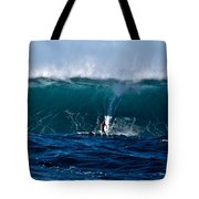 Catching A Big Wave, North Shore, Oahu Tote Bag