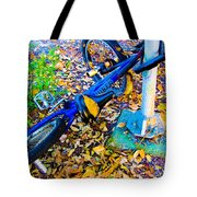 Catching A Ride Tote Bag