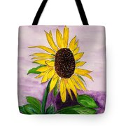Catching A Sunflower  Tote Bag