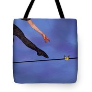 Catching Butterflies Tote Bag by Steve Karol