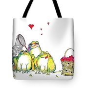 Catching Hearts Tote Bag