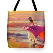 Catching The Breeze Tote Bag