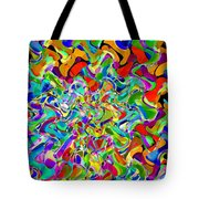 Catching The Lights Tote Bag