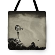 Catching The Updraft Tote Bag