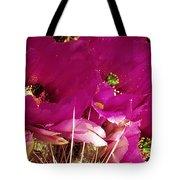 Catcus Flower Tote Bag