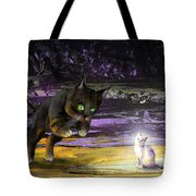 Catechismic Apparition Tote Bag