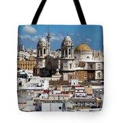 Catedral De Cadiz Tote Bag