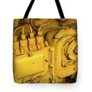 Caterpillar D2 Bulldozer 06 Tote Bag
