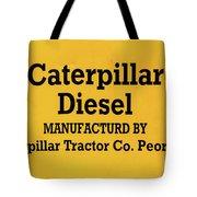 Caterpillar D2 Bulldozer 08 Tote Bag