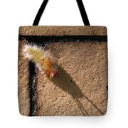 Caterpillar With Shadow Tote Bag