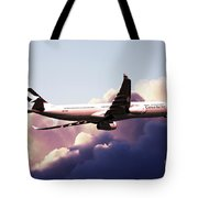 Cathay Pacific Airbus A330-343 Tote Bag
