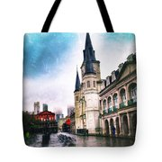 Cathederal From Side Tote Bag