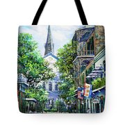 Cathedral At Orleans Tote Bag