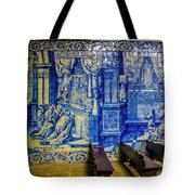Cathedral Azulejos Tote Bag
