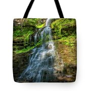 Cathedral Falls - Paint Tote Bag