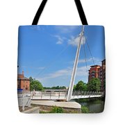 Cathedral Green Bridge At Derby Tote Bag