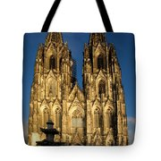 Cathedral In Cologne  Tote Bag