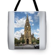 Cathedral In San Sebastian Is The Largest Religious Structure In The Basque Country Tote Bag