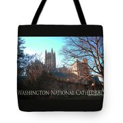 Cathedral In The Fall Travel Tote Bag