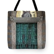 Cathedral Of Amalfi Door Tote Bag