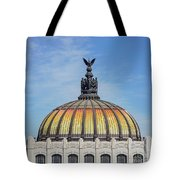 Cathedral Of Art In Mexico Tote Bag