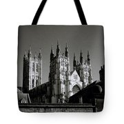 Cathedral Of Canterbury Tote Bag