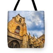 Cathedral Of Colmar, Alsace,france Tote Bag