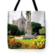 Cathedral Of Notre Dame Tote Bag
