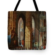 Cathedral Of San Miguel Tote Bag