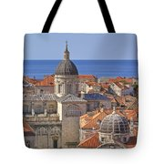 Cathedral Of The Assumption Of The Virgin In Dubrovnik Tote Bag